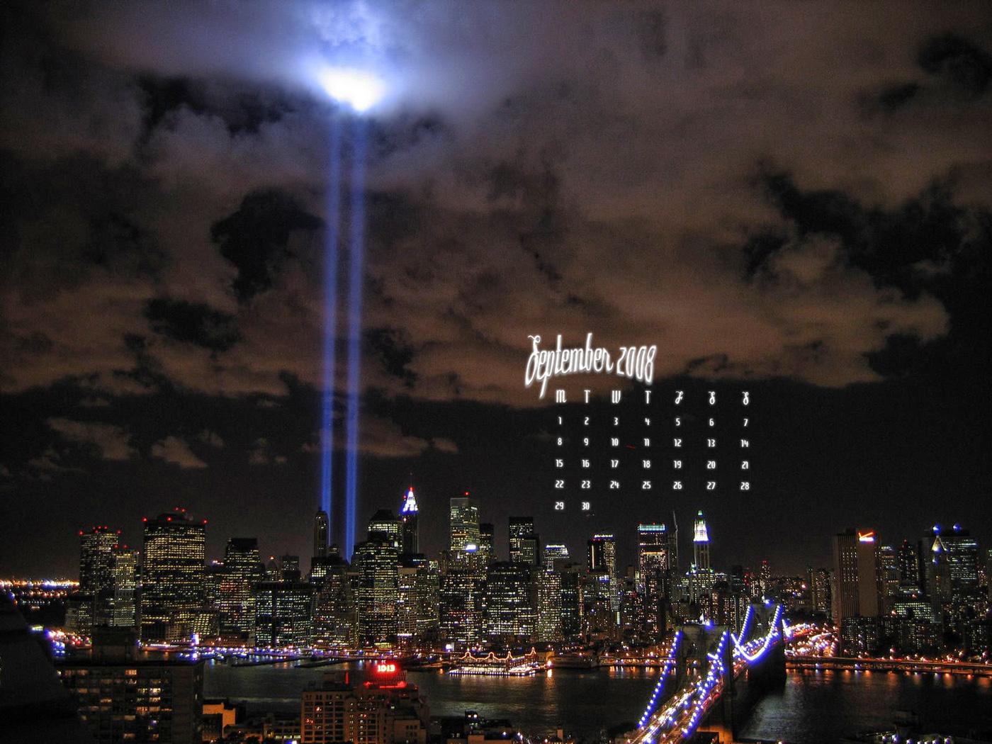 September 11 2001 Wallpaper September 11th tribute 1400x1050