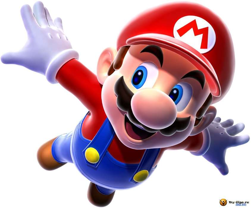 Download mobile wallpaper Cartoon Games Mario 13062 844x700