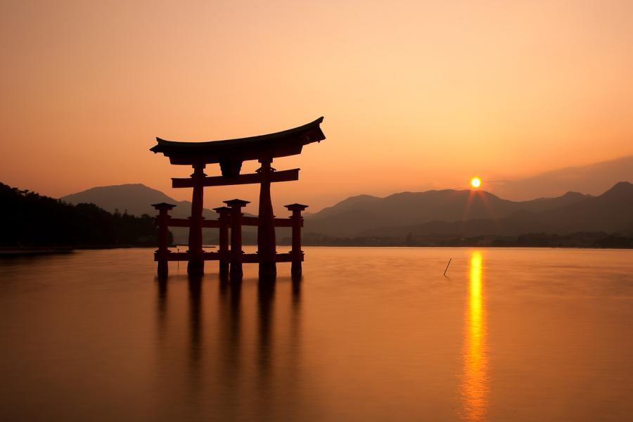 Miyajima Sunset   Pixdaus 900x600