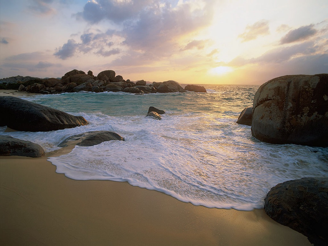 Tropical Island Beach Ambience Sound: Super High Resolution Beach Wallpaper