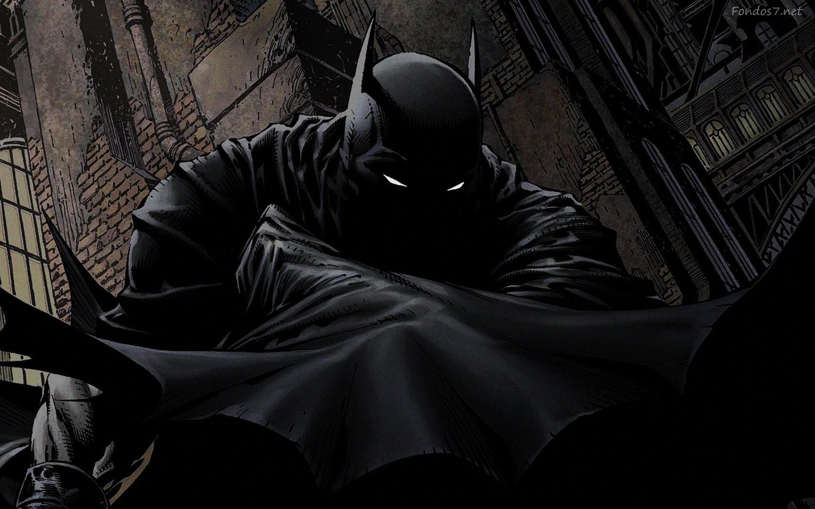 Descargar Fondos de pantalla batman comic hd widescreen Gratis 1680x1050