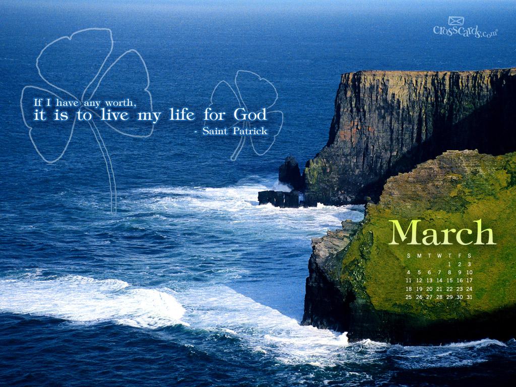 2012 st patrick wallpaper download christian march wallpaper 1024x768