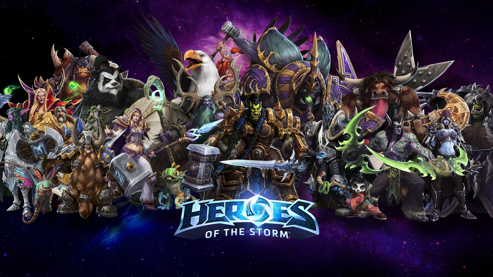 Free Download Heroes Of The Storm Wallpaper Wow Champs By
