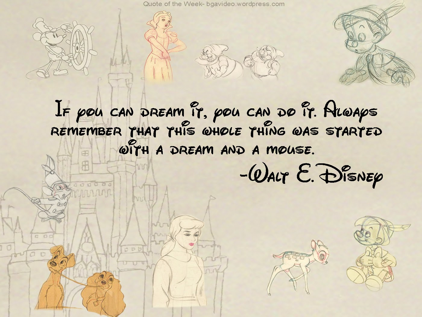 Inspirational Quotes From Disney QuotesGram 1400x1050