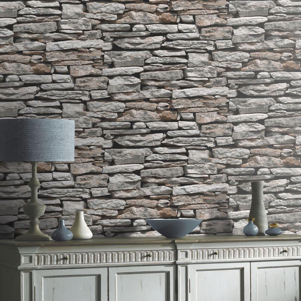 623000   Moroccan   Brick   Slate   Stone   Rock   Arthouse Wallpaper 1000x1000