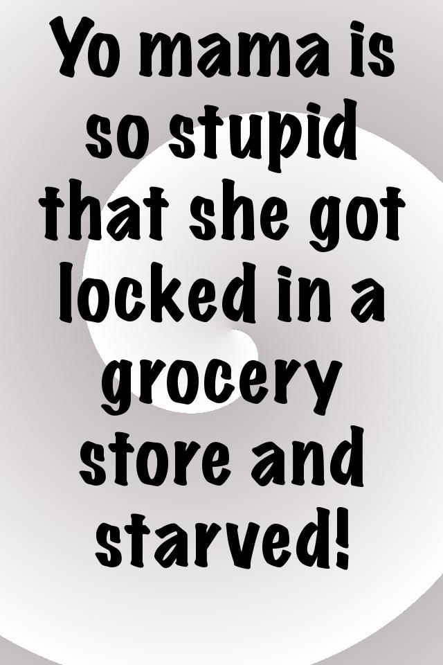 App Shopper Funniest Yo Mama Jokes Ever Entertainment 640x960