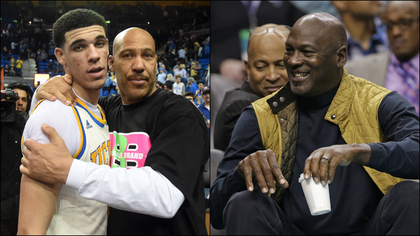 Lonzo Ball joins LaVar in saying that he would beat Michael Jordan 1366x768