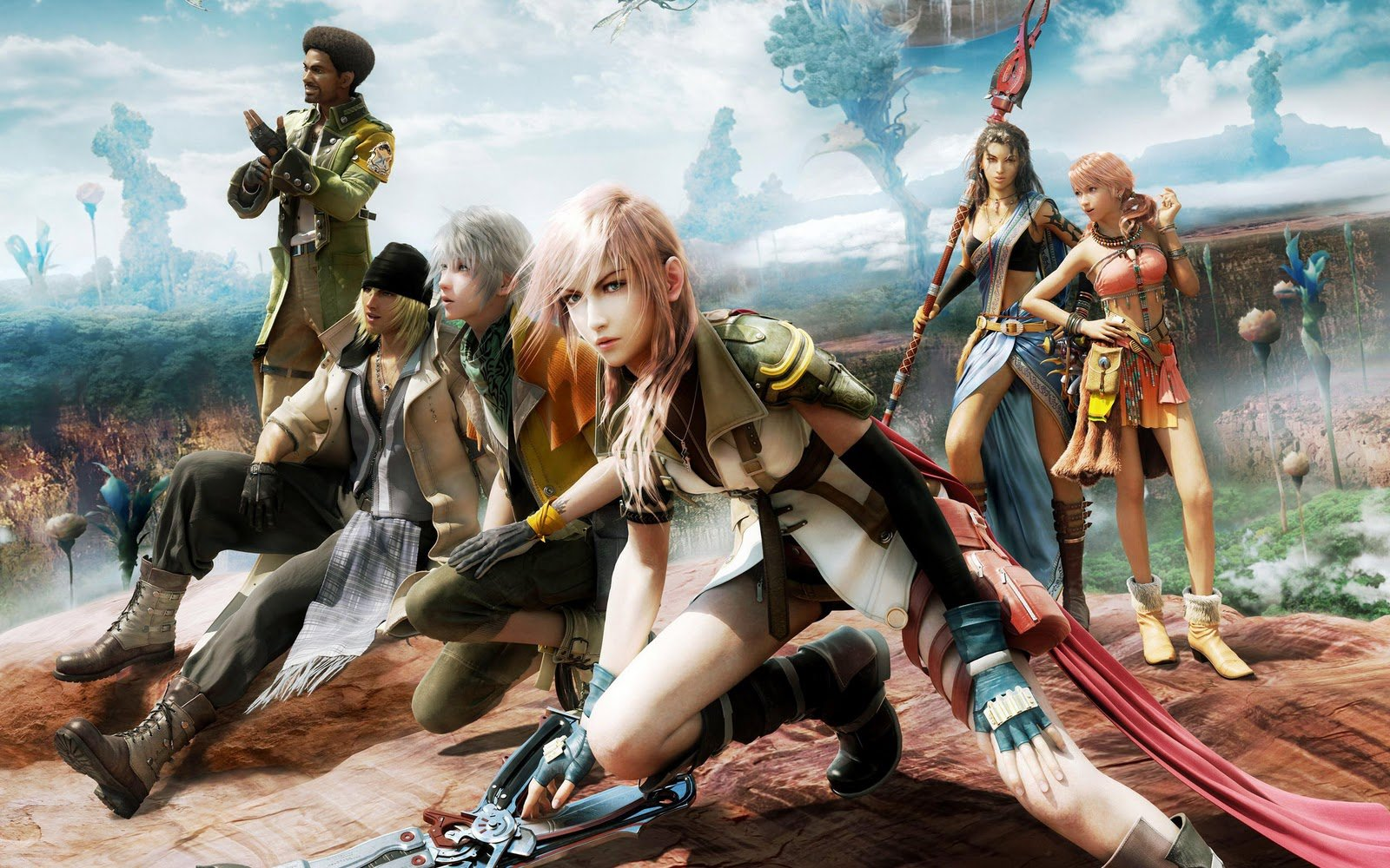 Final Fantasy XIII HD Wallpapers   2011 2013 GAMES 1600x1000