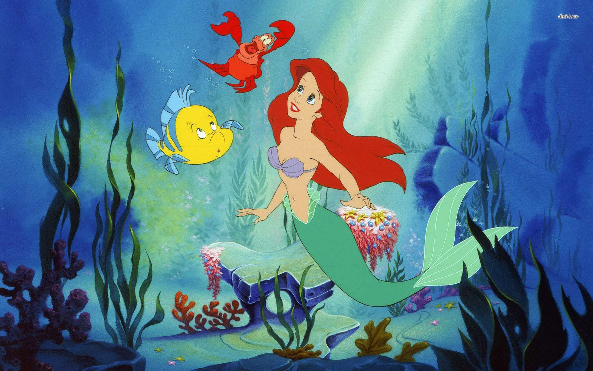 The Little Mermaid Wallpaper Desktop - WallpaperSafari