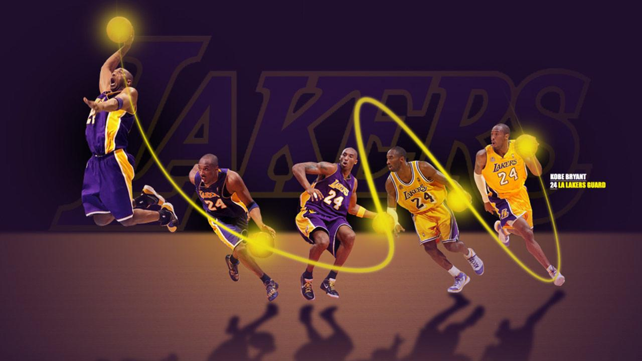 All About Basketball Kobe Bryant With Club LA Lakers Wallpapers 2013 1280x720