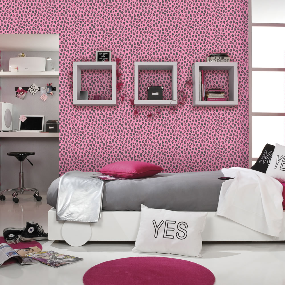Free download Cheetah Print Wallpaper For Bedrooms Rasch ...