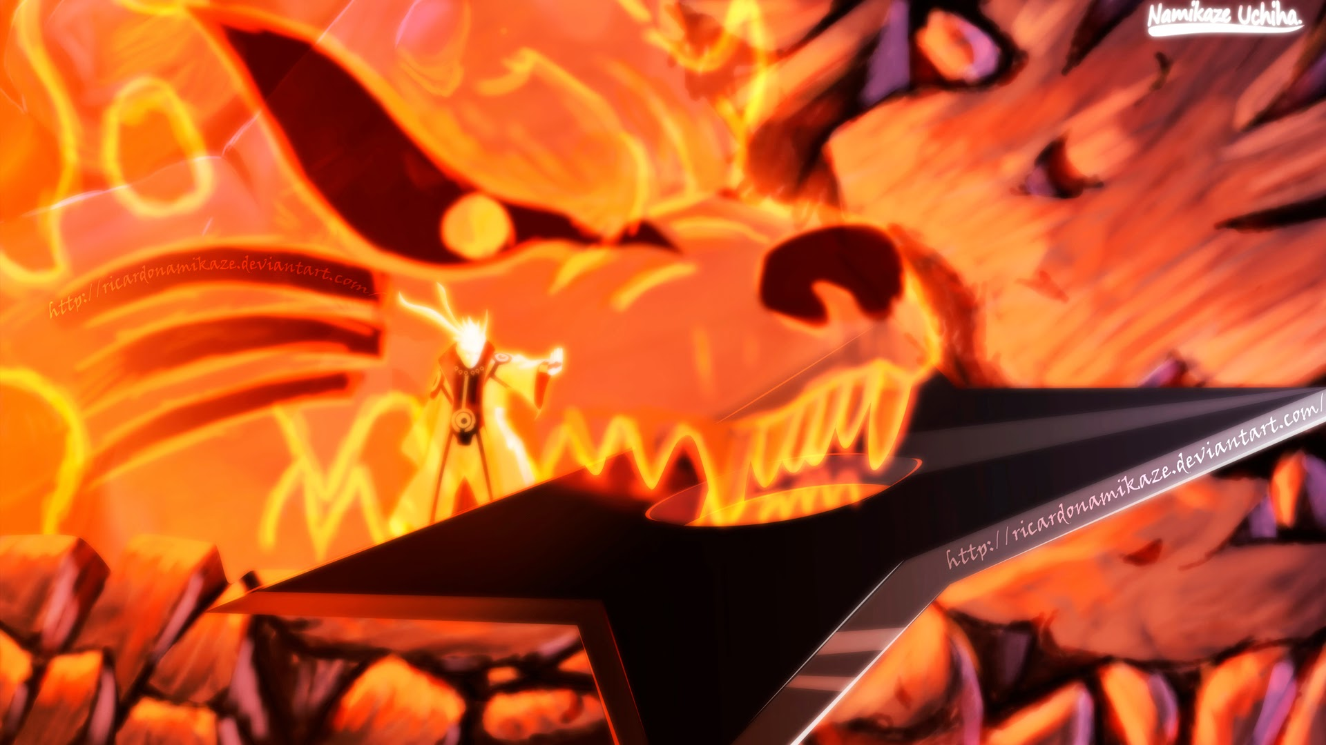 75 Naruto Nine Tails Wallpaper On Wallpapersafari