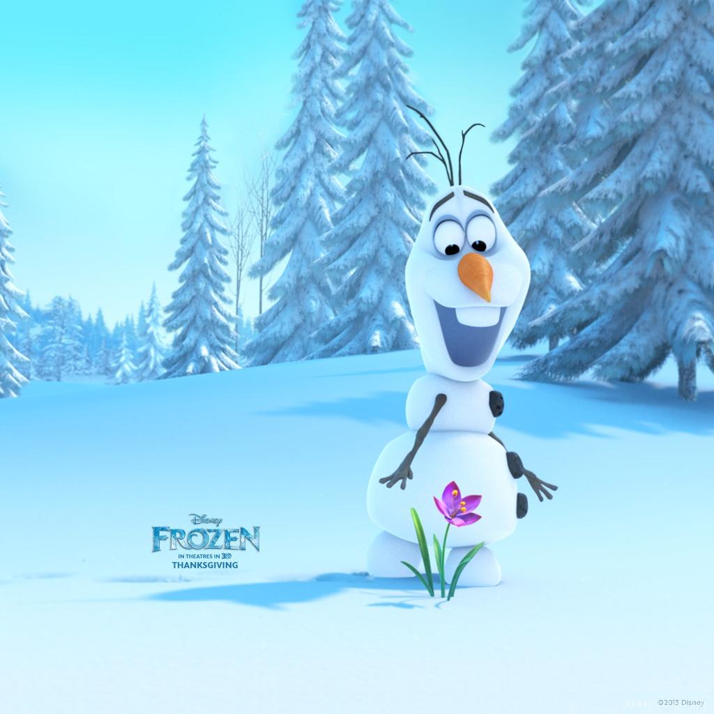 Olaf in Frozen HD Wallpaper   iHD Wallpapers 1024x1024