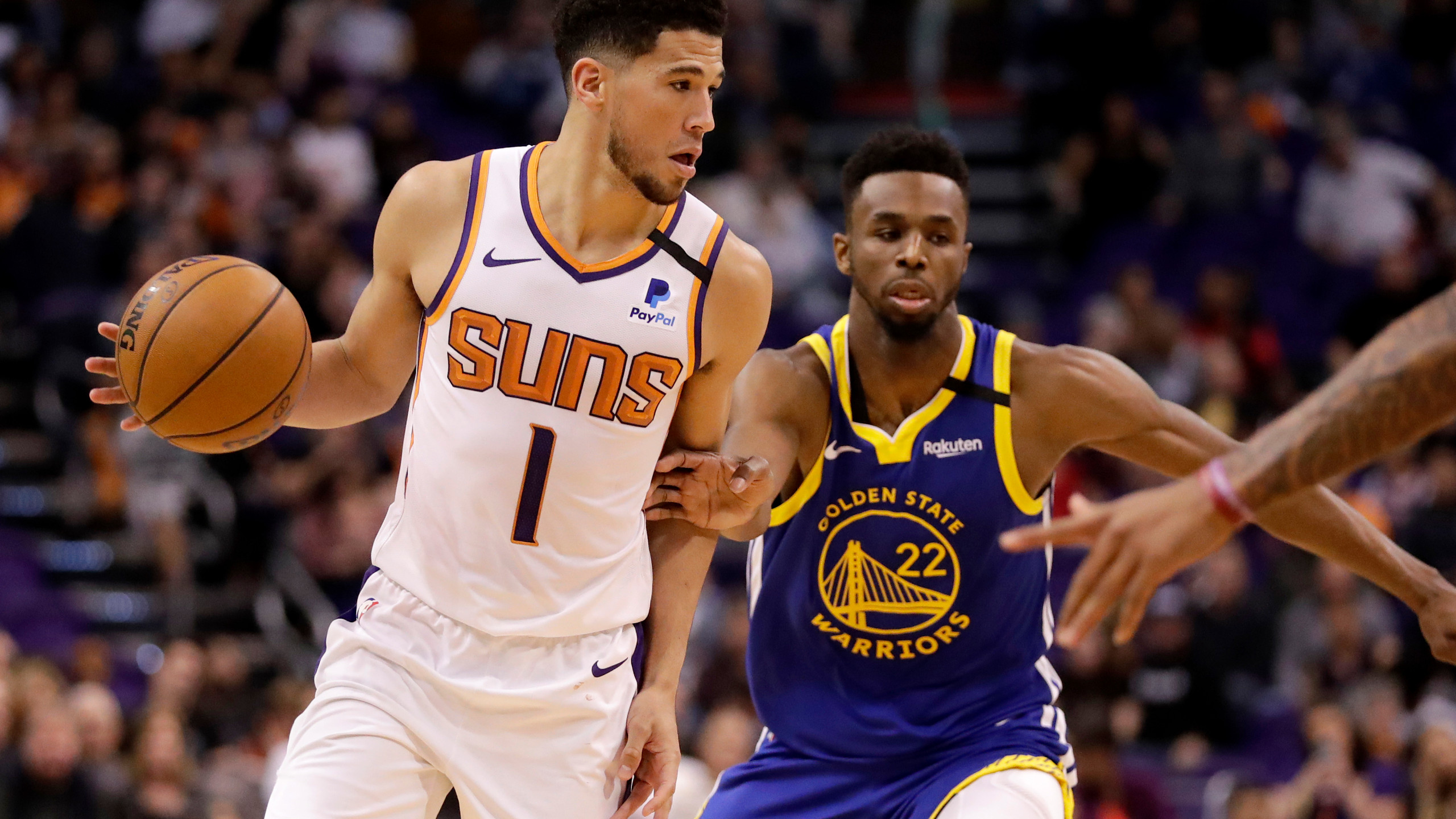 Booker to replace Lillard at All Star 3 point contest KWKT   FOX 44 2560x1440