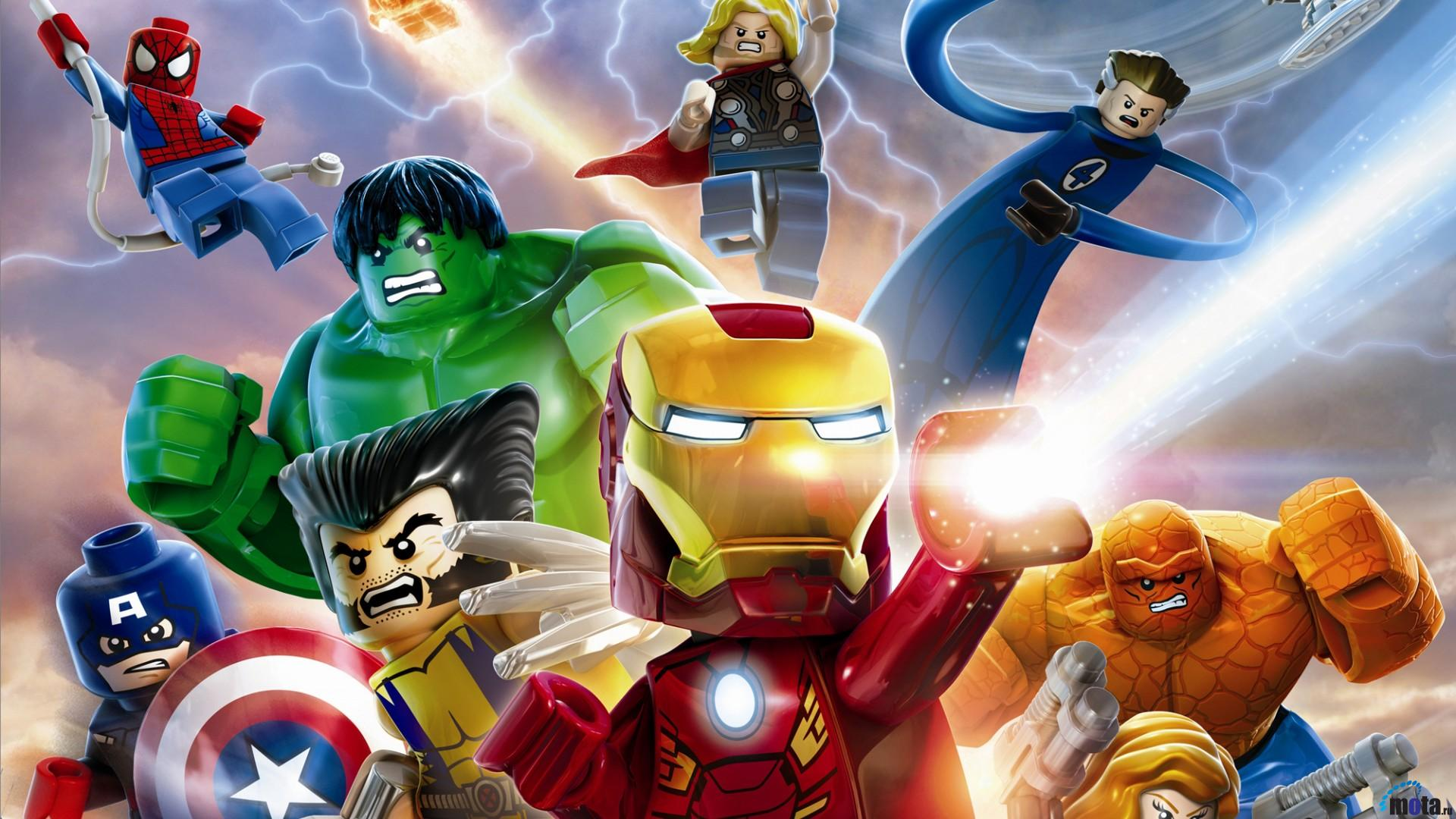 Wallpaper Heroes Game Lego Marvel Super Heroes 1920 x 1080 HDTV 1080p 1920x1080