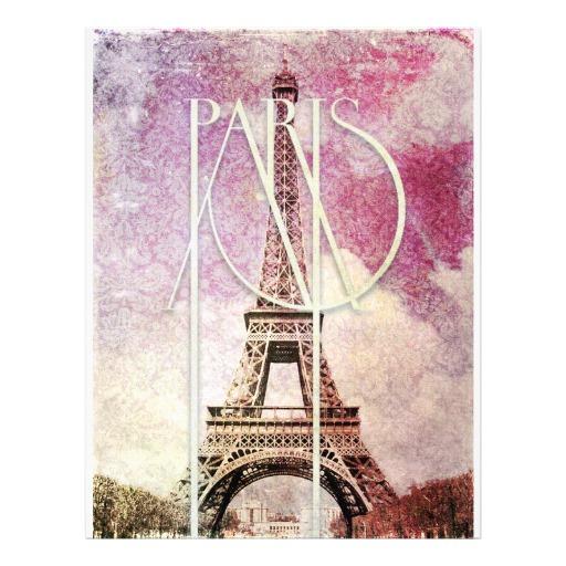 As Creation Pink Paris Pattern Eiffel Tower Childrens: Girly Paris Wallpaper