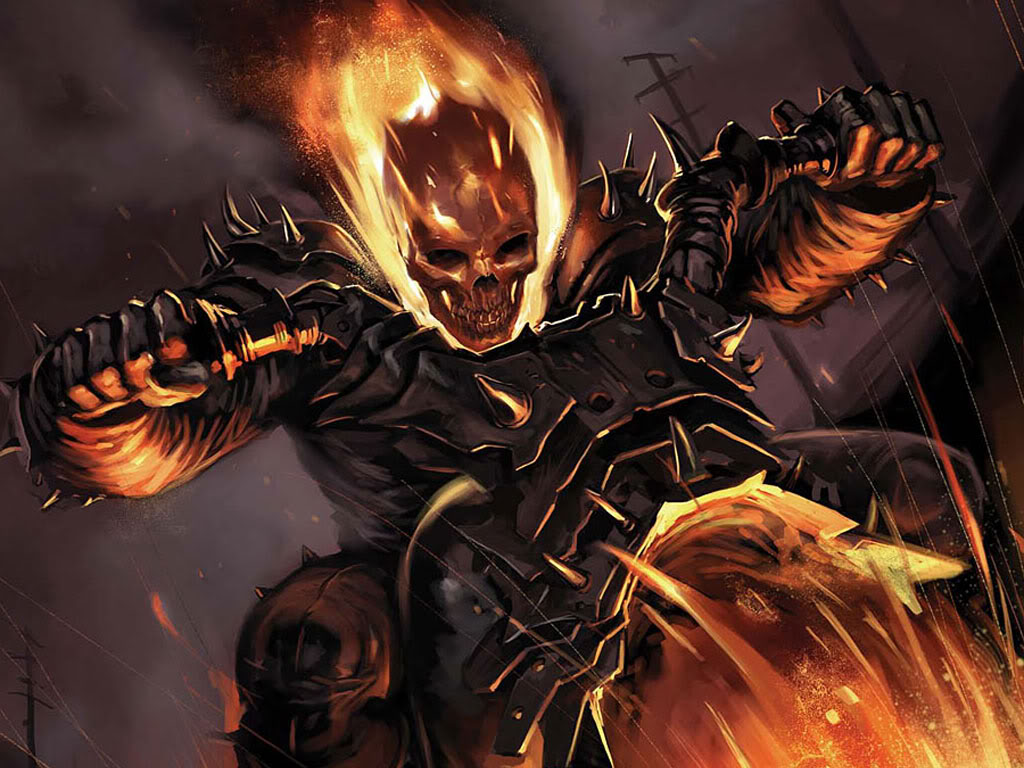 Ghost Rider Wallpapers   Cartoon Wallpapers 1024x768