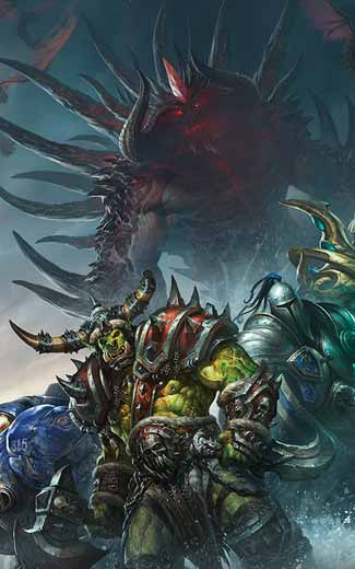 Blizzard Entertainment mobile wallpaper or background 01 325x520