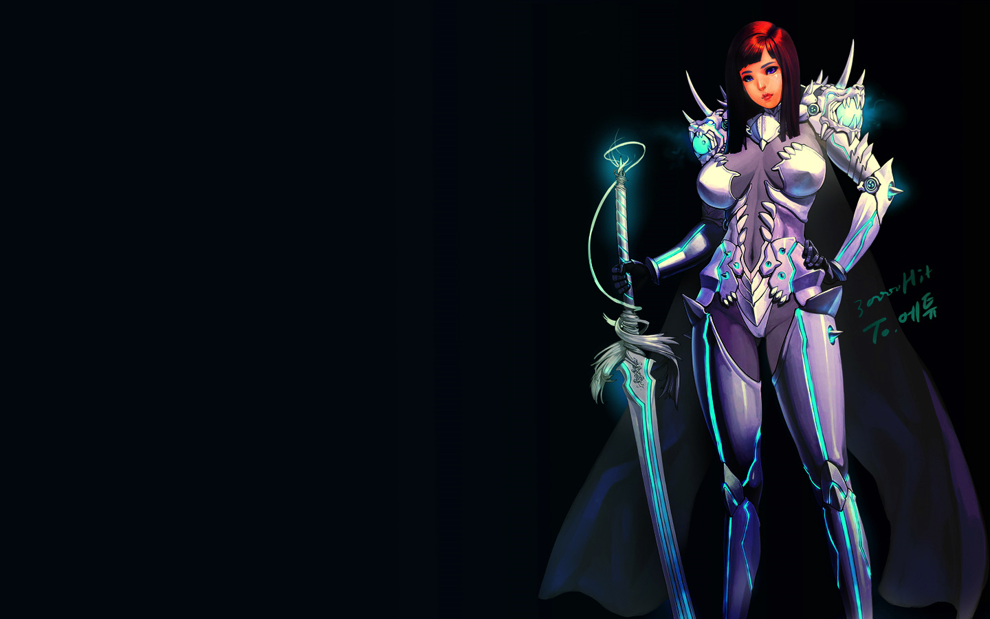 Alpha Coders Wallpaper Abyss Fantasy Women Warrior 15 1440x900