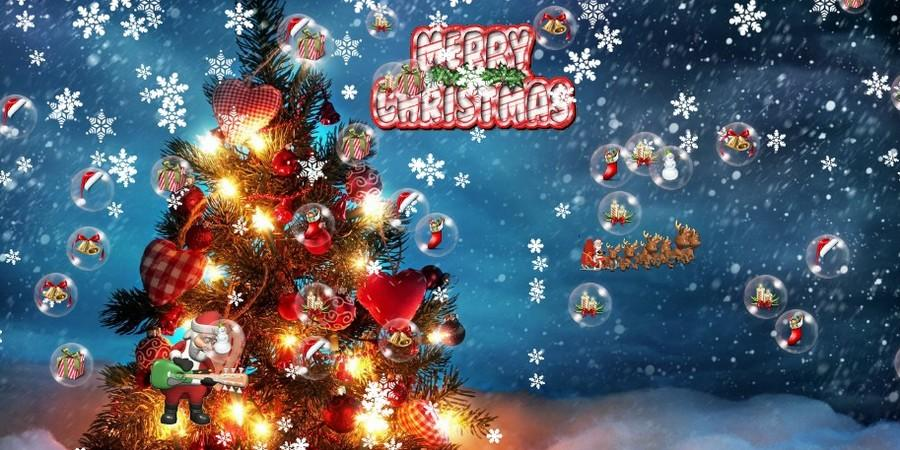 Free Download Christmas Tree Live Wallpaper Screenshot