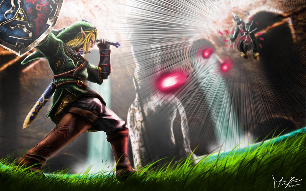 Link vs Zant wallpaper 1 by marcosbaruco 1280x800
