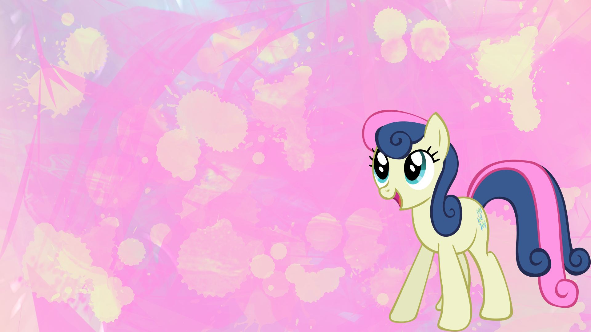 MLPFiM Bon Bon wallpaper by Apoljak 1920x1080