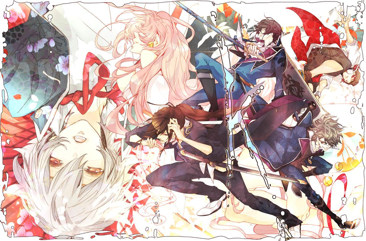 Project Anime sword katana skateboard hd wallpaper desktop pc 1280x844