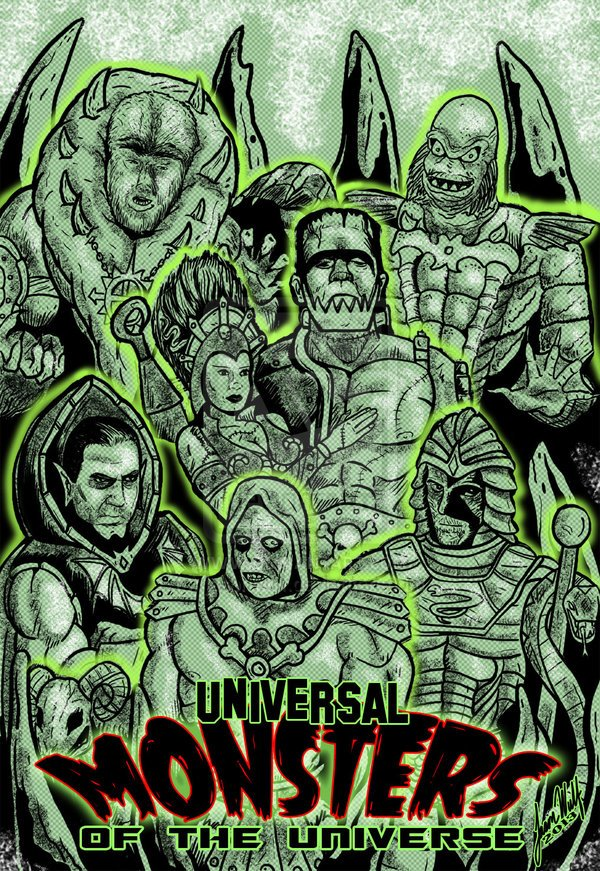 Universal Monsters Wallpaper Wallpapersafari
