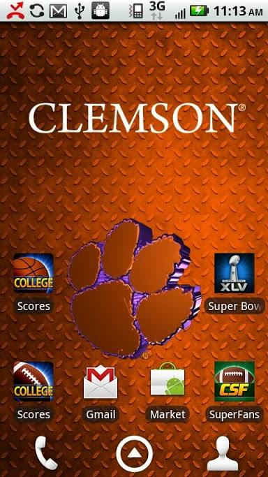 Clemson Live Wallpaper HD Review Android App Playboard 384x683