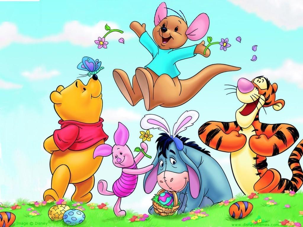 Winnie the Pooh Easter Wallpaper   Winnie the Pooh Wallpaper 6511617 1024x768