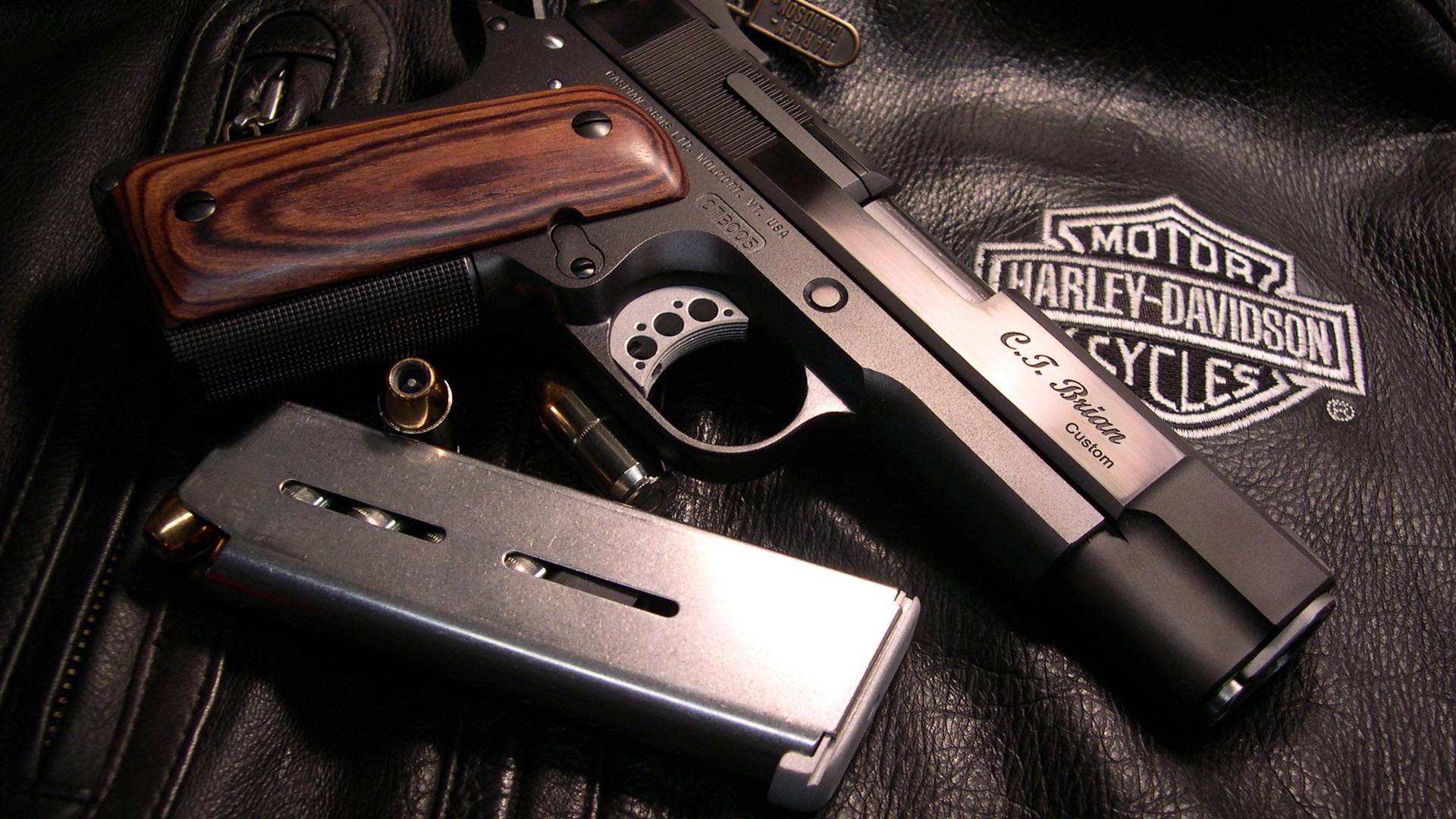 Best Guns And Harley Davidson Wallpaper Deskto 3047 Wallpaper High 1920x1080