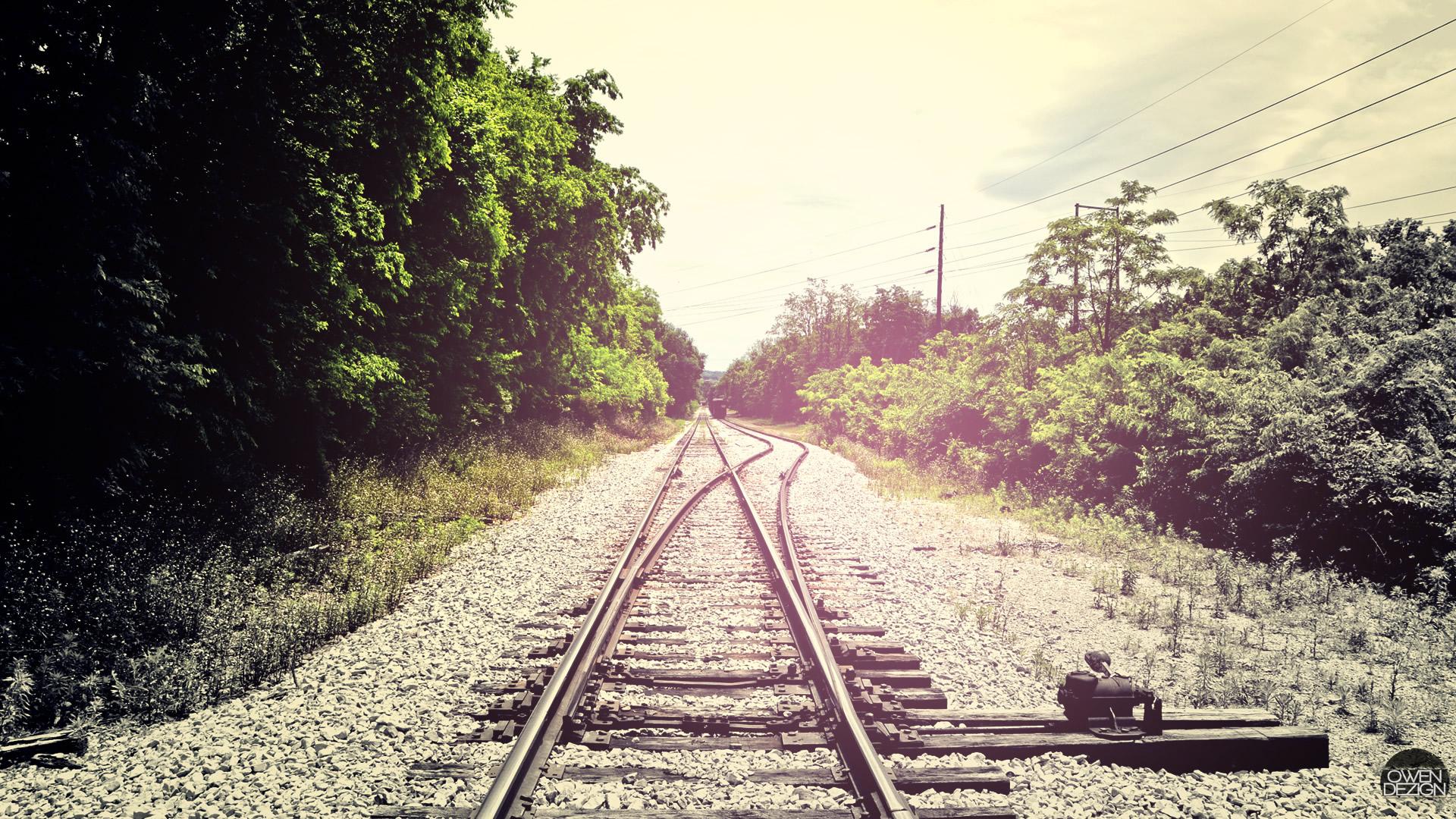 Download Railroad HD Wallpaper 1920x1080