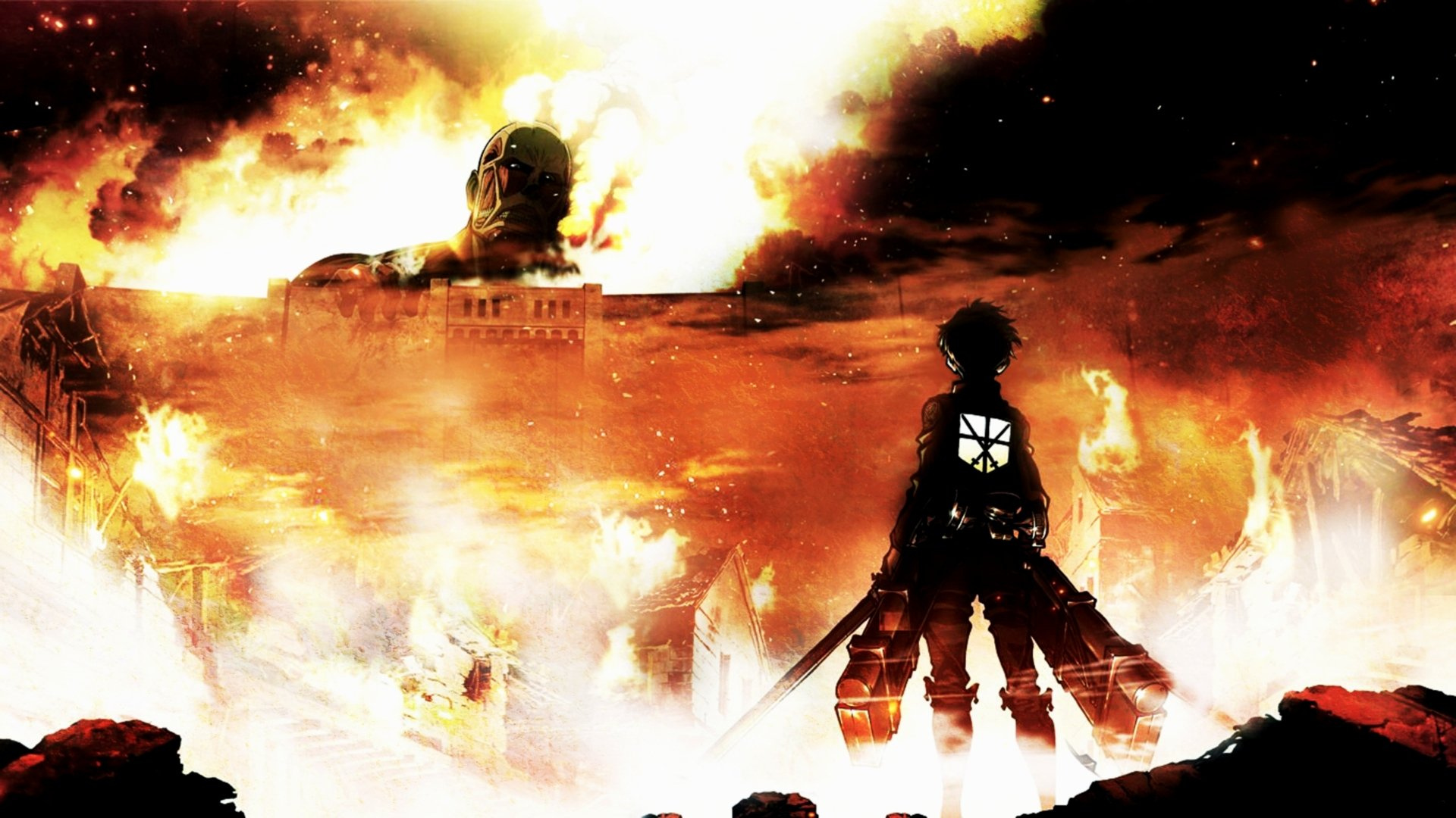 1878 Attack On Titan HD Wallpapers Background Images   Wallpaper 1920x1080