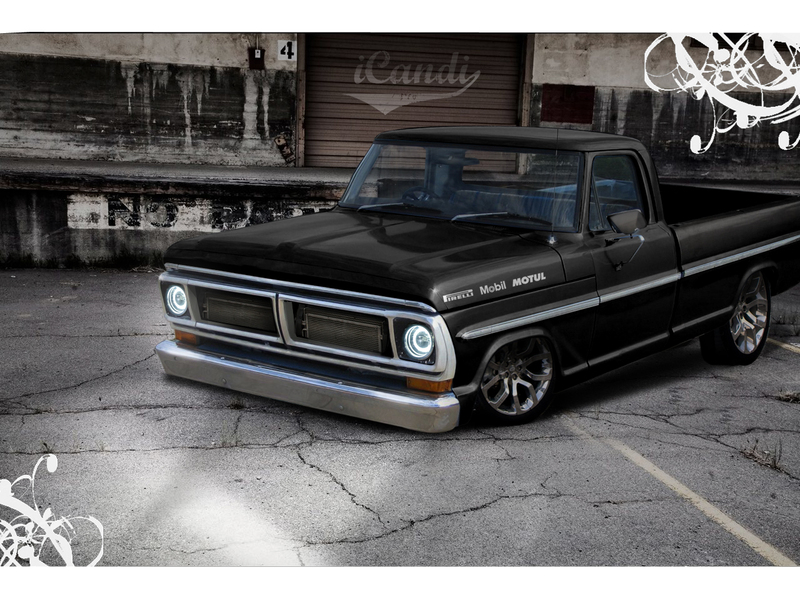 Ford Truck by takink 800x600