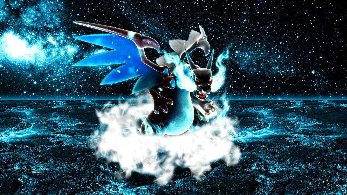 Mega Charizard X Wallpaper 2 by Glench 1191x670