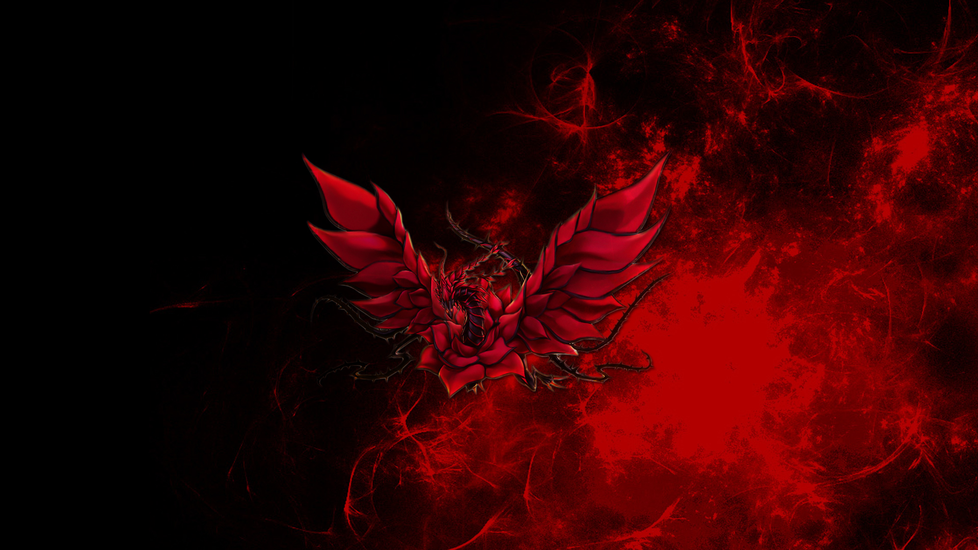 red and black dragon wallpaper   wallpapersafari