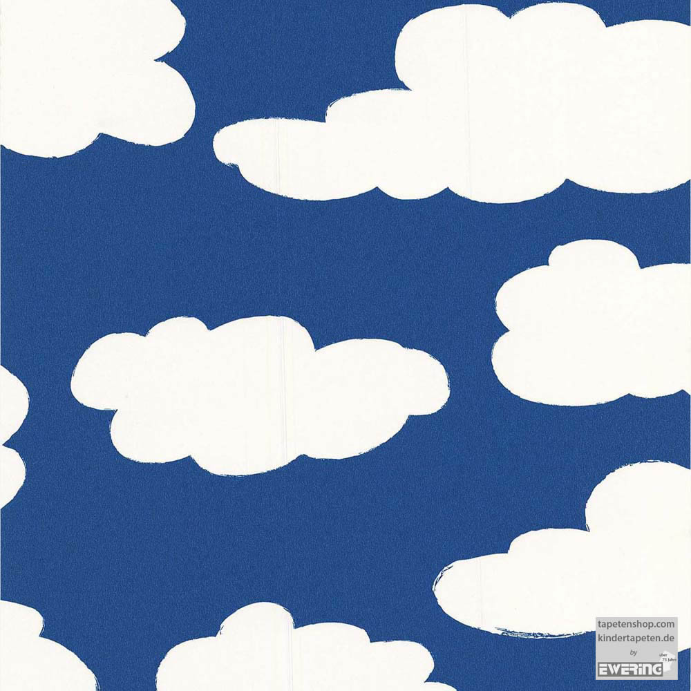 cloud patterns youth room paper wallpaper Wallpaper borders 1000x1000