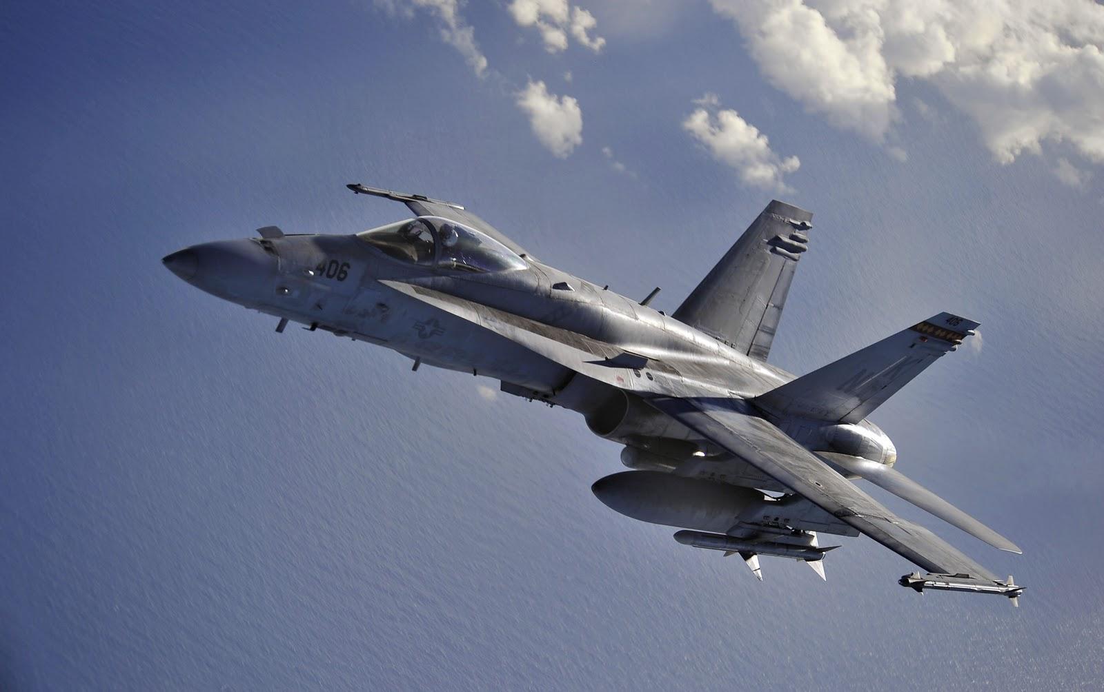 Military   McDonnell Douglas FA 18 Hornet Military Hornet Airplane 1600x1004