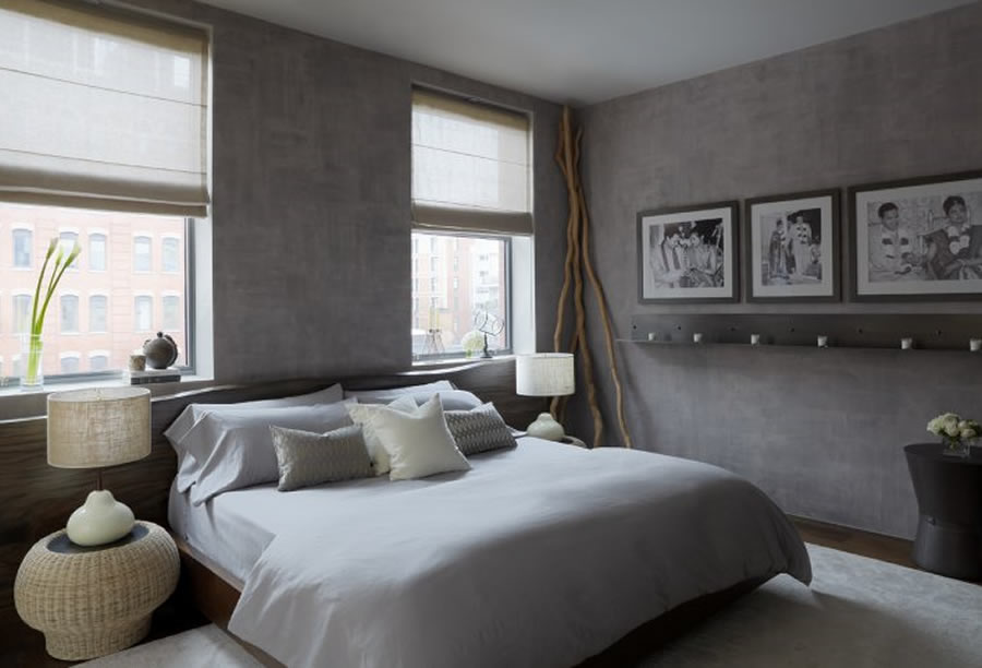 Grey Bedroom Ideas 900x612