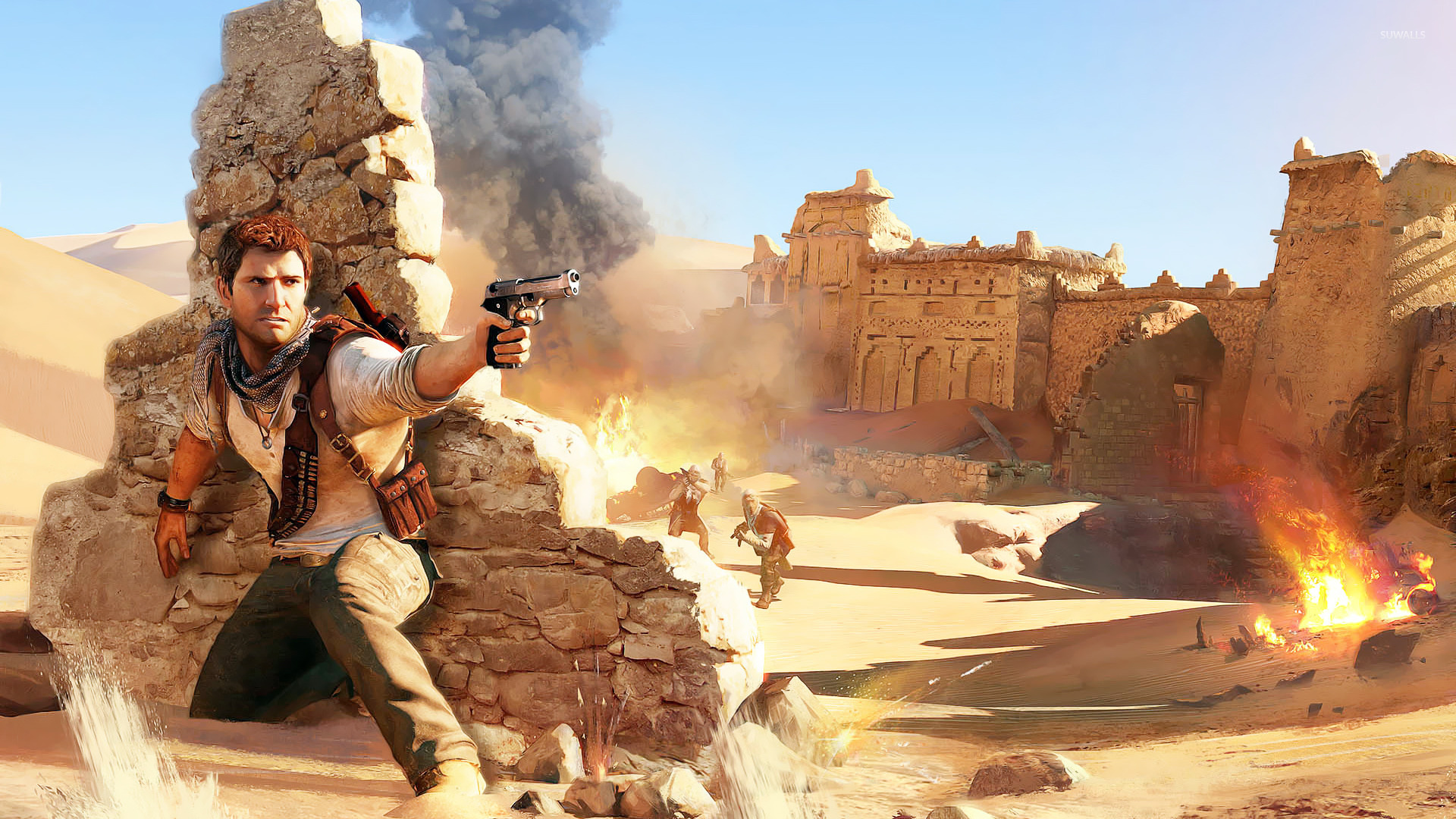 48 Uncharted 3 Wallpapers Hd On Wallpapersafari