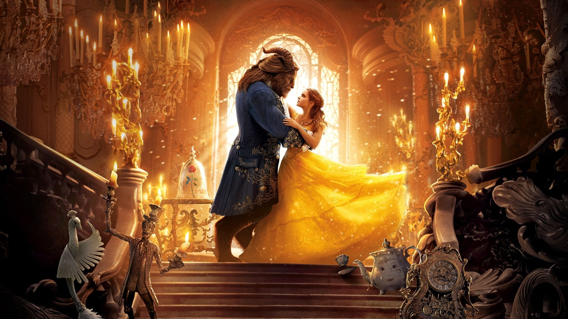 25 Beauty And The Beast 2017 HD Wallpapers Background Images 1920x1080