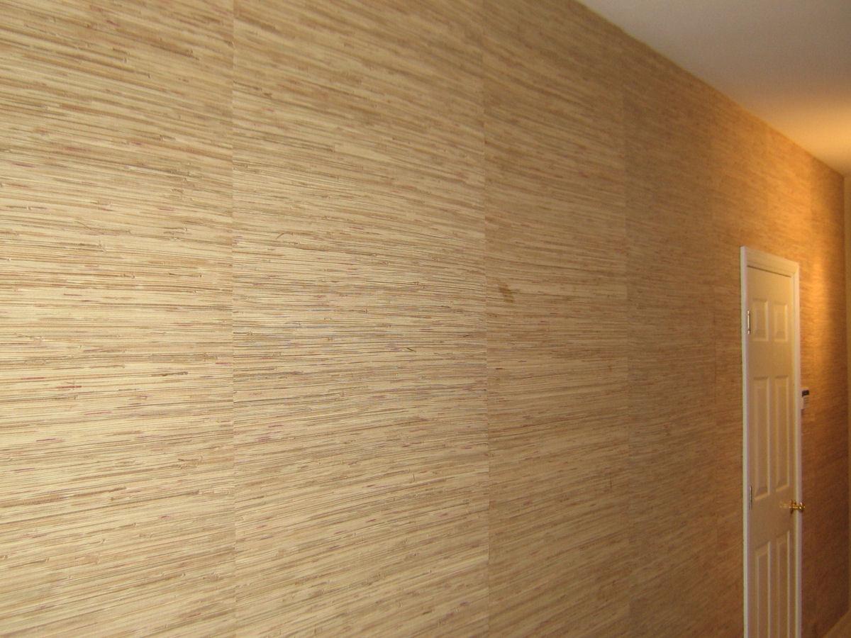 How do you match grass cloth wallpaper 1200x900