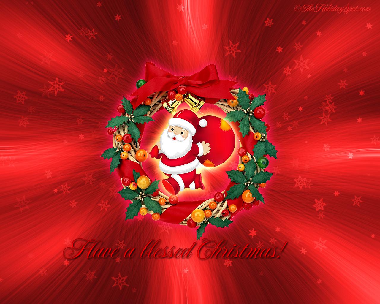 Christmas Stocking Wallpaper