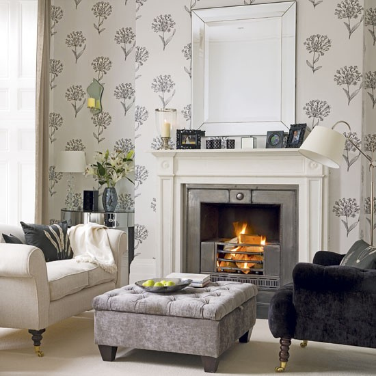 Mix cream charcoal and black to create a sophisticated and serene 550x550