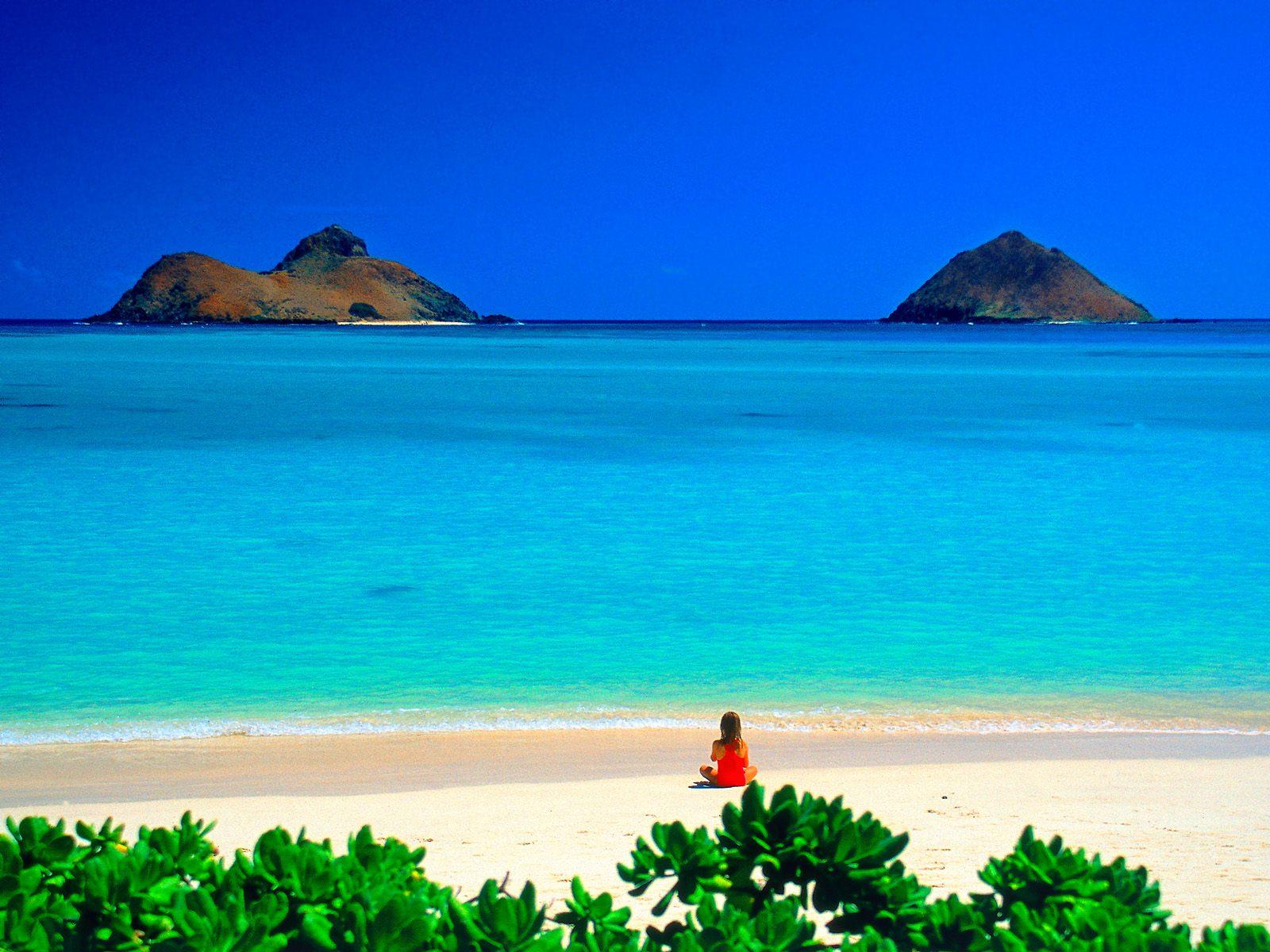 Hawaii beach sunset wallpapers: Oahu Hawaii