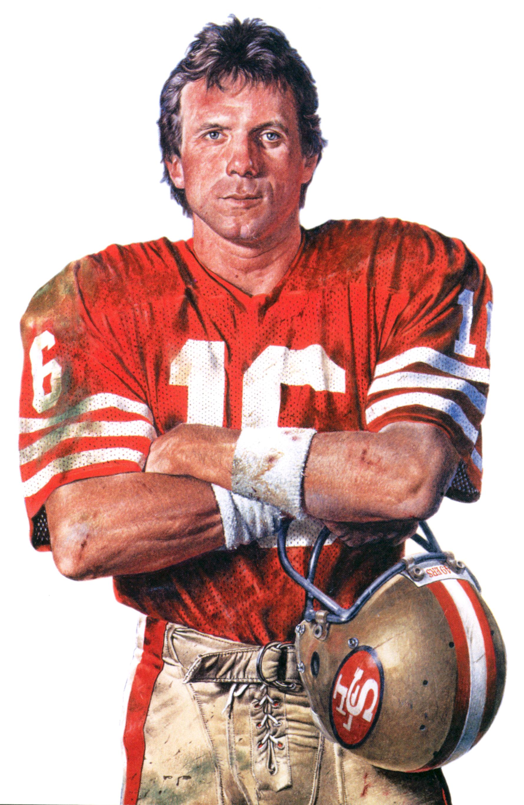 Portrait of SF 49er QB Joe Montana by Merv Corning Joe 1778x2731