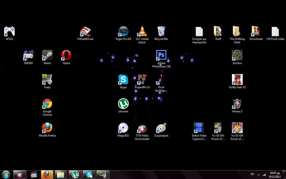 The most badass desktop EVER! by TheMorganizer on DeviantArt
