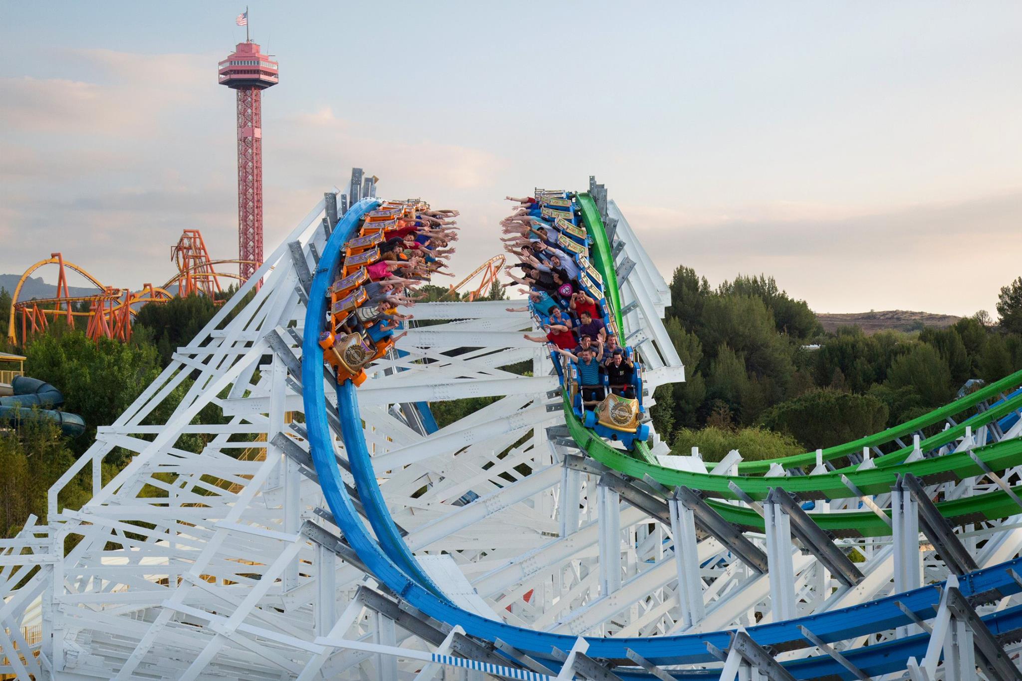Best amusement parks near NYC from Hersheypark to Six Flags 2048x1365