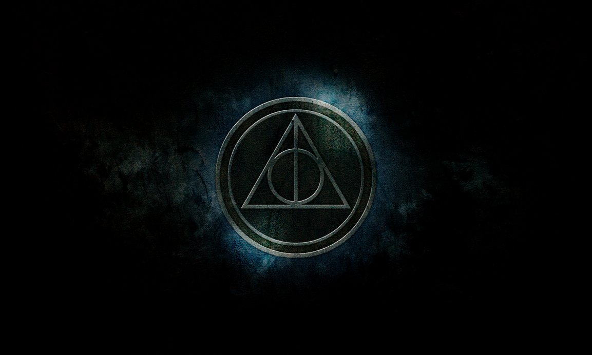 Harry Potter Deathly Hallows Wallpaper by MrStonesley 1153x692