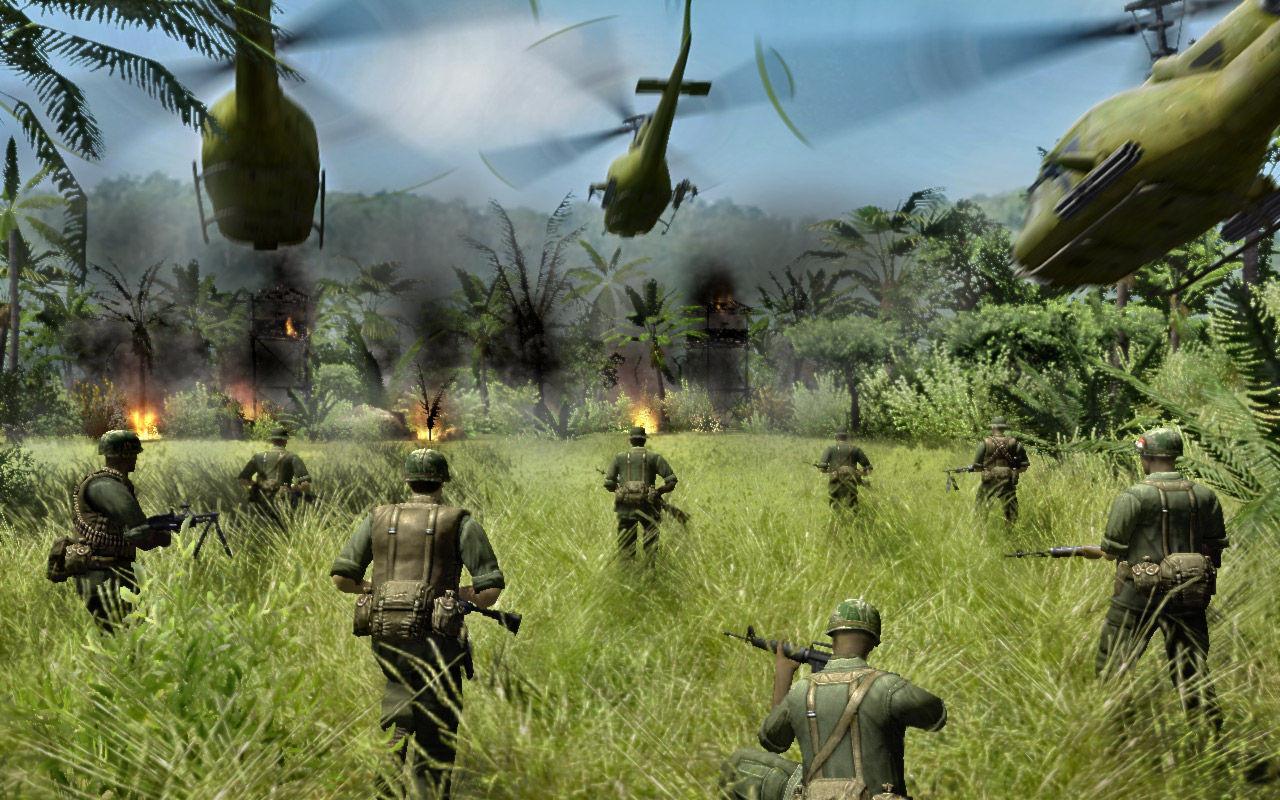 SAN ANDREAS Combat Arms Vietnam Men Of War Reliquia Negra 1280x800